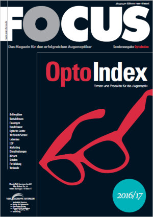 Branchenverzeichnis OptoIndex für die Augenoptik