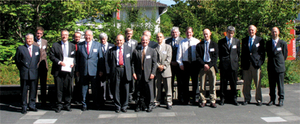 Die Referenten des 1. Artificial Vision Symposiums in Bonn