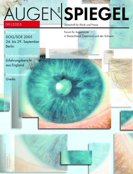 Cover Augenspiegel 09/2005