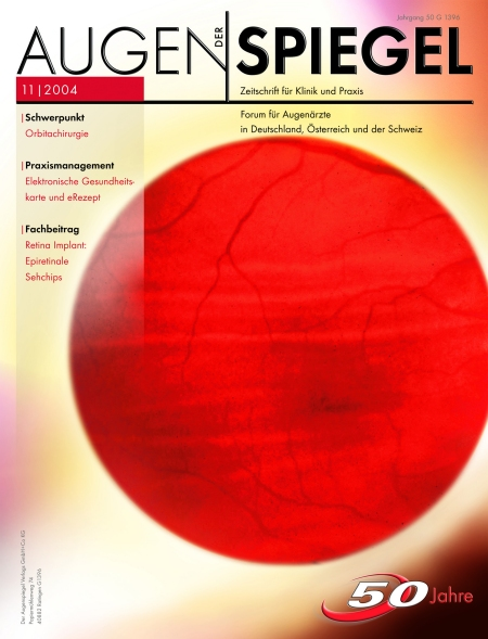Cover Augenspiegel 11/2004